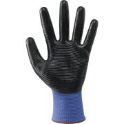 Work gloves in continuous wire NBR Safety equipment 353812 0