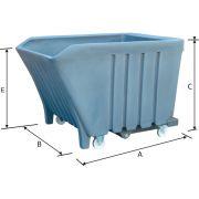 Polyethilene scrap holders Furnishings and storage 39023 0