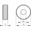 Kółko radełkowe KERFOLG ROUGH - Typ BL 30°