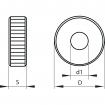 Kółko radełkowe KERFOLG ROUGH - Typ AA